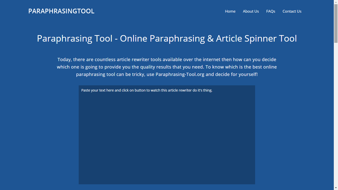 paraphrasing-tool.org top rated paraphraser online