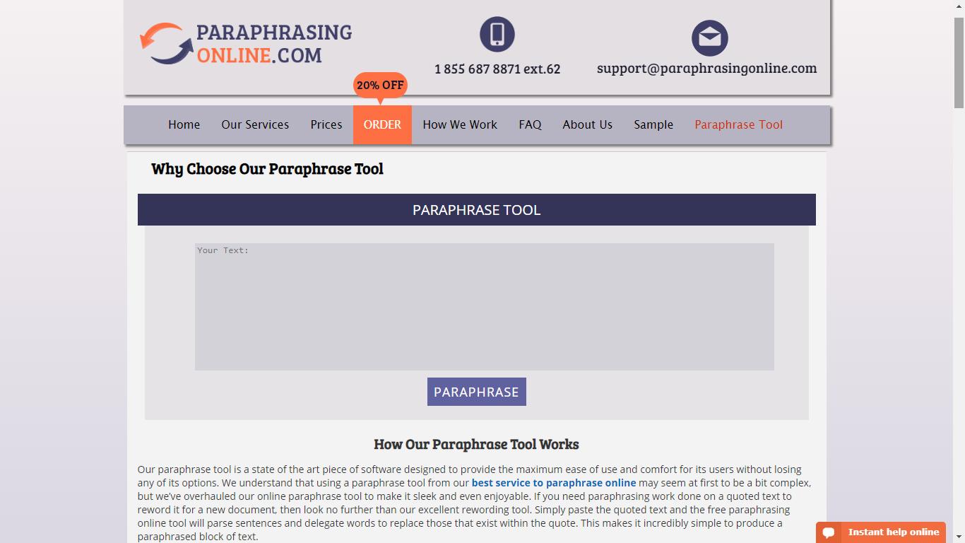 paraphrasingonline.com paraphrasing tool